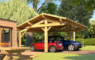 Carport en bois